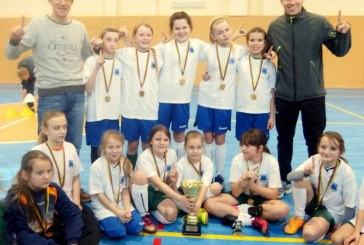 Prienų KKSC futbolininkės – Lietuvos mergaičių futbolo 5×5 čempionato nugalėtojos