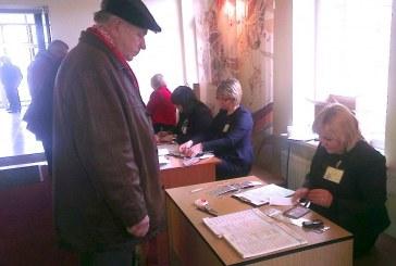 Savivaldos rinkimai prasidėjo. Išankstinio balsavimo aktyvumas didesnis nei per Seimo rinkimus