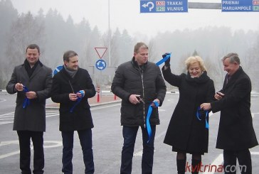 Įvyko oficialus Birštono miesto ir tarptautinės magistralės A16 (E28) žiedinės sankryžos atidarymas