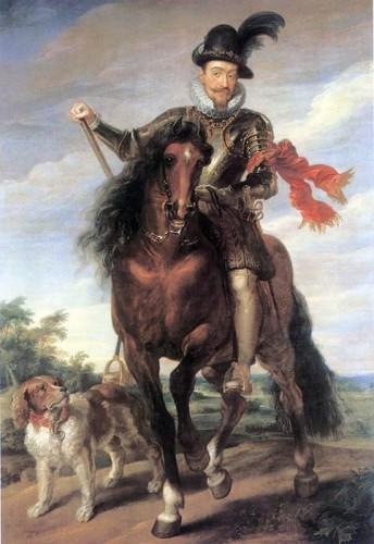 Žygimantas III Vaza 1624 m-Rubenso tapyba