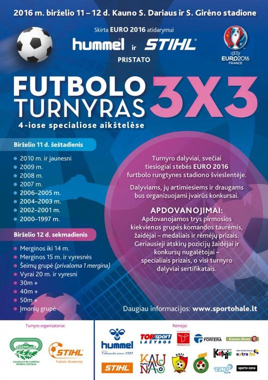 Hummel_Futbolo turnyras 3x3