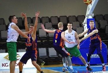 """""""Stakliškių"""" krepšininkams kelias į ketvirtfinalį atsivėrė tik paskutinę rungtynių minutę"""