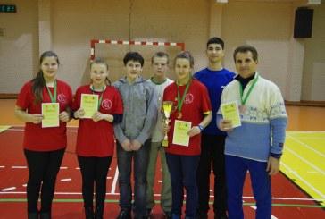 Balbieriškio pagrindinės mokyklos badmintonininkai  sėkmingai pasirodė LMOF finaliniame etape