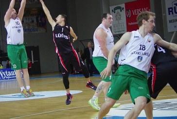"""""""Stakliškių"""" krepšininkai pralaimėjimu pradėjo RKL ketvirtfinalio seriją"""