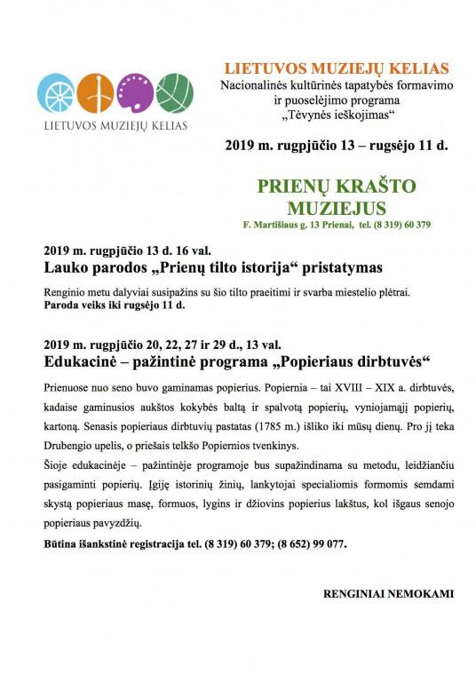 Muzieju kelias_2019_Prienu muziejus-1