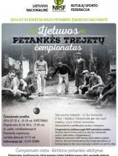 Lietuvos petankės trejetų čempionatas Birštone