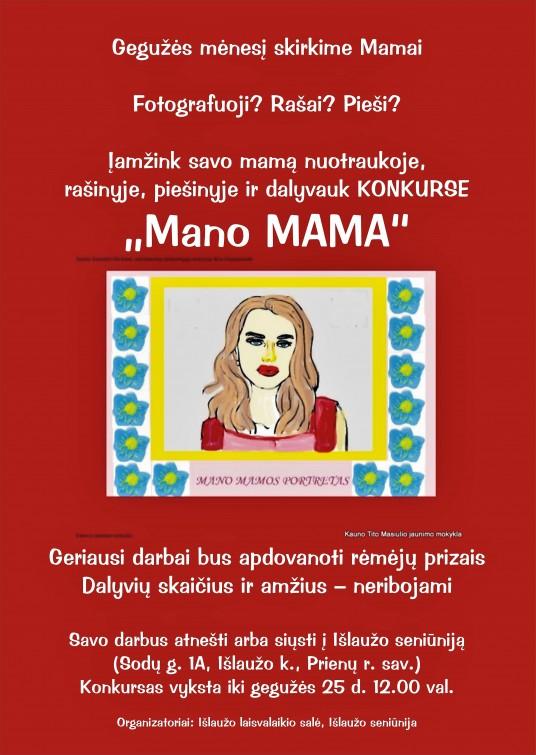 Skelbimas Konkuras Mamai Islauzas 1 2018