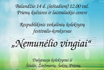 """Festivalis-konkursas """"Nemunėlio vingiai"""""""