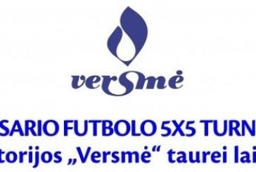 """Birštono sanatorijos """"Versmė"""" 5×5 futbolo turnyras"""