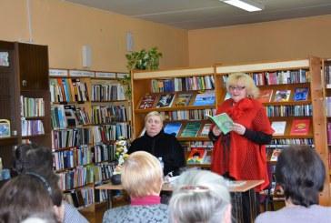 Foto. Poezijos skaitymai Balbieriškio bibliotekoje