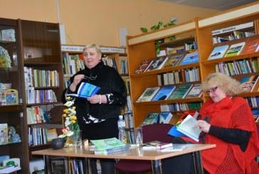 """Balbieriškio bibliotekoje – lyrinės poezijos skaitymai """"Kai laša dienomis į širdį"""""""