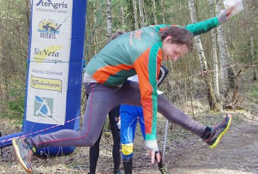 Atvirą Prienų orientavimosi sporto čempionatą laimėjo Vytautas Beliūnas ir Kristina Masevičiūtė