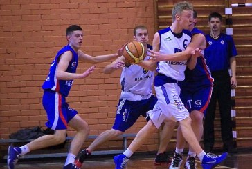 """""""Birštono"""" krepšininkai pirmosios pusfinalio rungtynes baigė su vieno taško deficitu"""