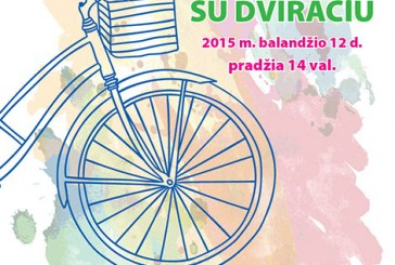 Pasitikim pavasarį su dviračiu