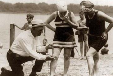 Kai moteris į jūrą tempdavo arkliai. Maudymosi kostiumėlių mada dabar ir prieš šimtą metų
