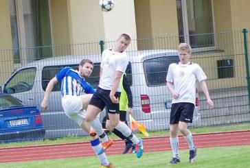 """""""Birštono"""" futbolininkams iškovoti pergalės nepadėjo ir savos sienos"""
