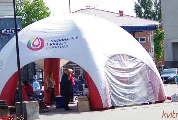 Neatlygintinos donorystės akcija Prienuose