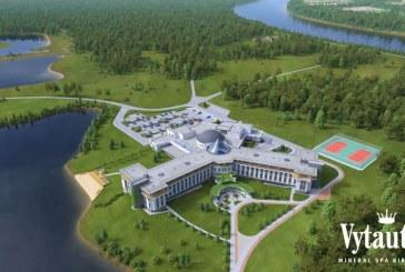 """2015-ųjų metų pabaigoje Birštone duris atvers naujas kompleksas """"Vytautas Mineral SPA"""""""