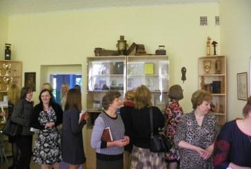Veiverių Tomo Žilinsko gimnazijoje duris atvėrė atgimęs muziejus