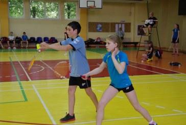 Balbieriškyje auga graži badmintonininkų pamaina