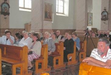 Tėvo dienos minėjimas Užuguosčio bažnyčioje