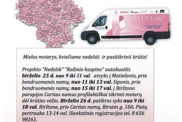 """""""Nedelsk"""" autobusėlis suka link Birštono"""