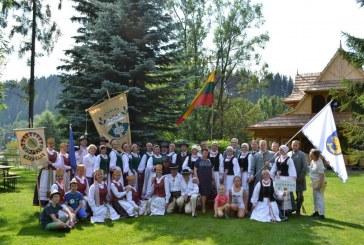 """Birštono kultūros centro tautinių šokių kolektyvas """"Jievaras"""" dalyvavo festivalyje """"Poronino vasara"""""""