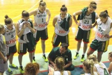 Ričardo Maceinos vadovaujama Lietuvos U-20 rinktinė įveikė Izraelio krepšininkes