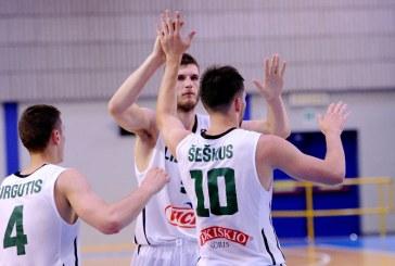 Prieniškio indėlis  į pergalę prieš Ukrainos komandą – 12 taškų