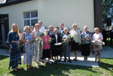 Savaitgalį atidarytos renovuotos Siponių krašto bendruomenės patalpos