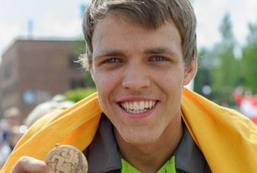 """OSK """"Šilas"""" orientacininkui Algirdui Bartkevičiui – Pasaulio jaunimo čempionato bronza"""