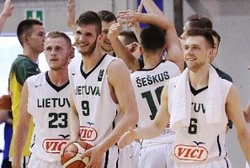 Prieniškis atvedė Lietuvos komandą į dar vieną pergalę