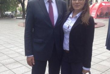 Šešėliniame moksleivių ministrų kabinete savaitę dirbo Stakliškių gimnazijos abiturientė