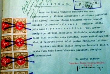 Užmiršti istorijos puslapiai. Dvi benzino degalinės Jiezne tarpukaryje, 1929-1939 m.