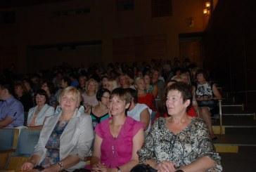 Rajono pedagogai mokslo metus pradėjo konferencija