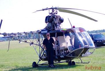 Ar Lietuvoje bus gaminami sraigtasparniai?