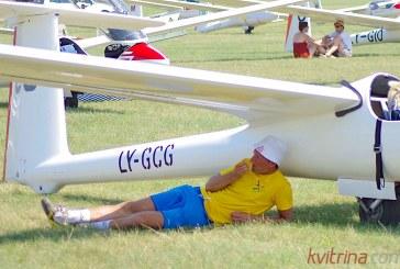 Buvęs Lietuvos teniso čempionas savo gyvenimo hobiu pasirinko sklandymą