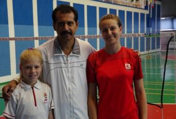 Tarptautinėje stovykloje Klaipėdoje dalyvavo ir badmintonininkės iš Balbieriškio
