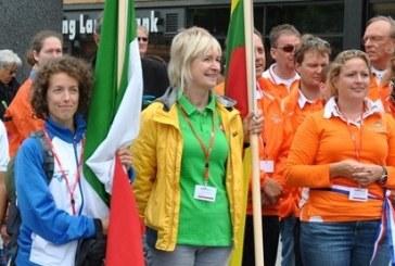 Prieniškė Edita Skalskienė pasaulio čempionate ir po septynių pratimų tarp lyderių