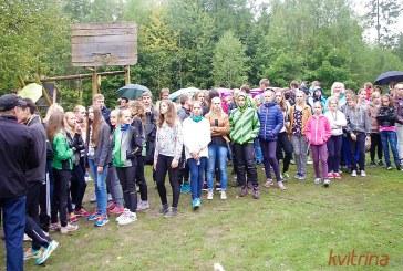 Siponių miške varžėsi kariškiai ir mokiniai