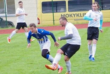 """""""Birštono"""" futbolininkai pergale pradėjo antrąjį AAFF pirmenybių ratą"""