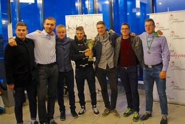 """SC """"Birštono"""" futbolininkams įteikti AAFF čempionato sidabro apdovanojimai"""