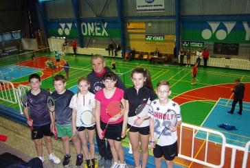 Balbieriškyje auga nauja badmintonininkų karta