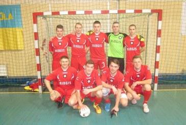 "AAFF salės futbolo pirmenybių starte – antroji ""Ringio"" pergalė"