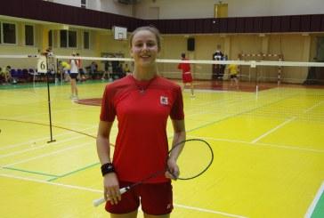Gerda Trakymaitė – Lietuvos badmintono taurės varžybų II etapo nugalėtoja