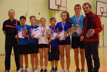 """Balbieriškio badmintonininkai – absoliutūs Lietuvos Makabi Vilniaus """"Grand Prix"""" nugalėtojai"""