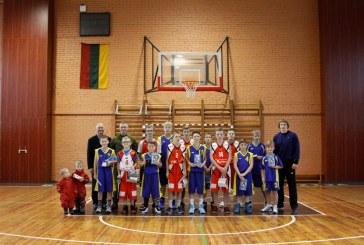 Kalėdinėse vaikų krepšinio varžybose Birštone pralaimėtojų nebuvo