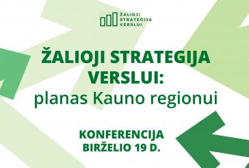 Ekspertai vystys žaliąją strategiją Kauno regionui