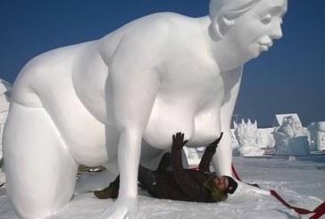 Erotiškai sniego lietuvaitei – trečioji vieta