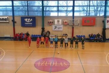 """""""Ringis"""" patyrė pirmąjį pralaimėjimą AAFF salės futbolo čempionate"""